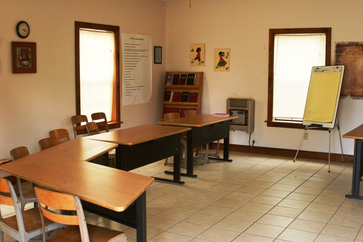 A photo of one of NABA's classrooms